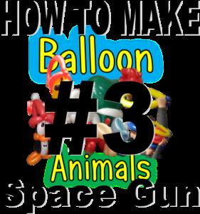 3-How-to-make-balloon-animals-Spcae-gun